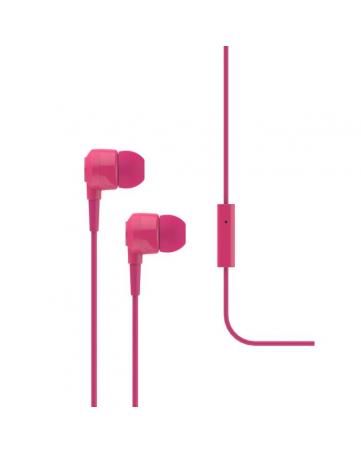 Ακουστικά handsfree iXchange SE02 ροζ