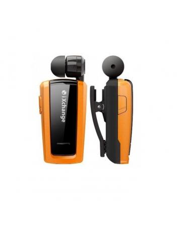 Bluetooth headset με πτυσσόμενο ακουστικό iXchange UA25 πορτοκαλί