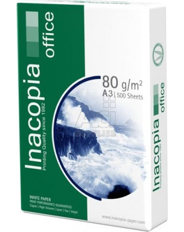 Φωτοαντιγραφικό χαρτί Inacopia Α3 80 γρ. ( δεσμίδα 500 φύλλων )