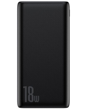 Powerbank baseus Bipow 10000mAh Quick Charge 3.0 PD 18W Μαύρο