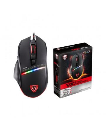 Ενσύρματο ποντίκι gaming Motospeed V10 μαύρο
