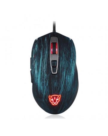 Ενσύρματο ποντίκι gaming Motospeed V60 μπλε