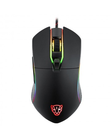 Ενσύρματο ποντίκι gaming RGB Motospeed V30 μαύρο