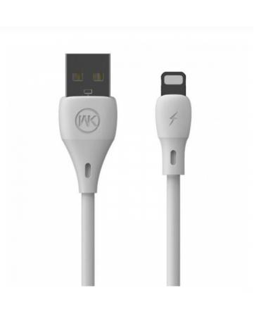 Καλώδιο δεδομένων / φόρτισης Lightning για iphone - WK WDC-023 white 1m