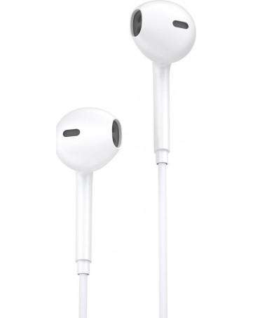 Ακουστικά handsfree WK Y19 Lightining για iphone λευκά