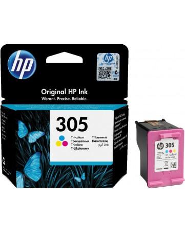 Γνήσιο HP 305 Tri-Colour (3ΥΜ60ΑΕ)