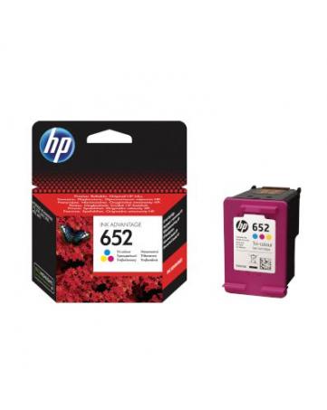 Γνήσιο HP 652 Tri-Color (F6V24AE)