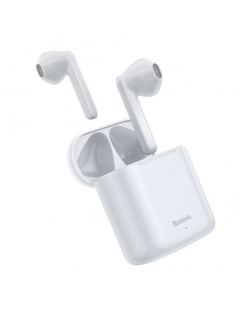 Ασύρματα ακουστικά bluetooth 5.0 Baseus Encok W09 λευκά (NGW09-02)