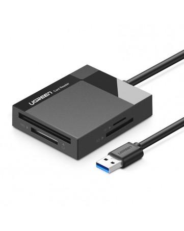 Card reader 4 σε 1 USB 3.0 Ugreen 30231 μαύρο