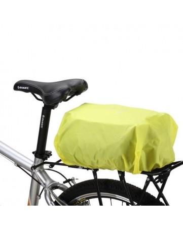 Κάλυμμα βροχής universal για ποδήλατο - σακίδιο Wozinsky (WBB5YW) πράσινο