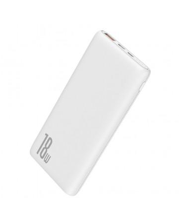 Powerbank baseus Bipow 10000mAh Quick Charge 3.0 PD 18W Λευκό