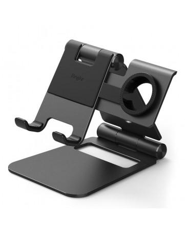 Βάση στήριξης - φόρτισης για smartphone, tablet, samsung watch Ringke (ACST0009) μαύρη