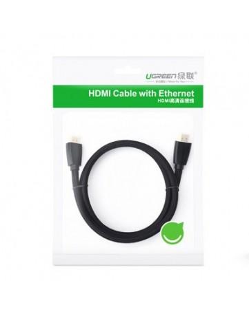 Καλώδιο HDMI M/M 1,5m Ugreen HD118 40409 μαύρο