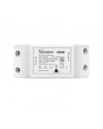Sonoff  έξυπνος διακόπτης BASICR2 Wifi 10A (M0802010001) λευκός