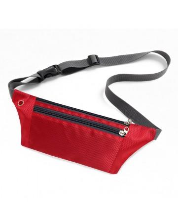 Τσαντάκι άθλησης Ultimate running belt με έξοδο ακουστικών OEM κόκκινο