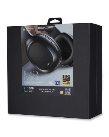Ασύρματα ακουστικά bluetooth 5.0 WK M8 μαύρα