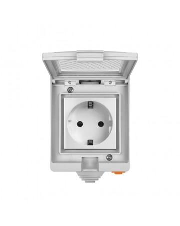 Sonoff αδιάβροχη έξυπνη πρίζα Wi-Fi S55TPE (IM190314004) λευκή