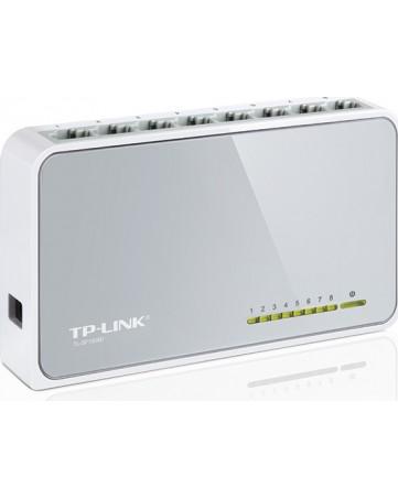 TP-LINK 8-Port Desktop Switch TL-SF1008D V.8 Unmanaged 10/100Mbps