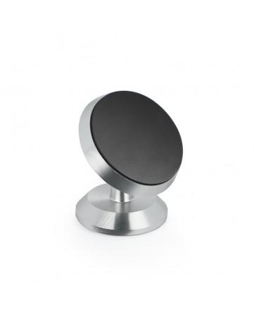 Universal Μαγνητική Βάση Αυτοκινήτου για το Κινητό 360 Περιστροφή - OEM 01234 Silver