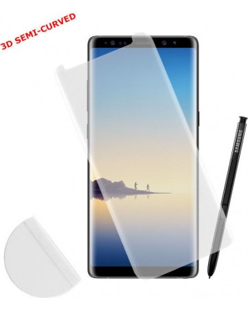 Idol 1991 Tempered Glass Samsung Note 8 N950 0.30mm 3D Full Glue Semi Curved Transparent + Squeezy Card