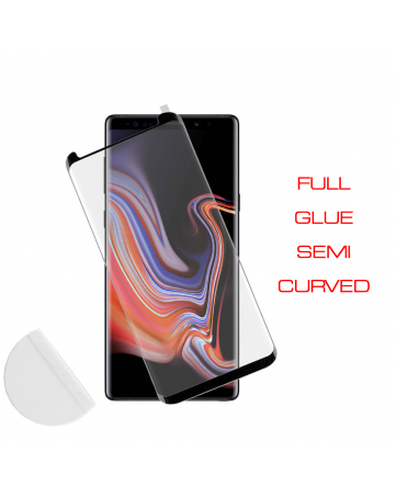 Idol 1991 Tempered Glass Samsung Note 9 N960 0.30mm 3D Full Glue Semi Curved Transparent + Squeezy Card