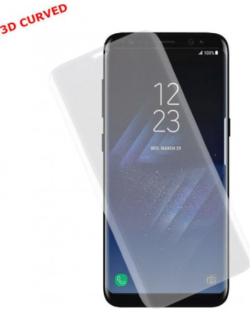 """Idol 1991 Tempered Glass Samsung S8 G950 5.8"""" 9H 0.30mm 3D Curved Full Transparent"""
