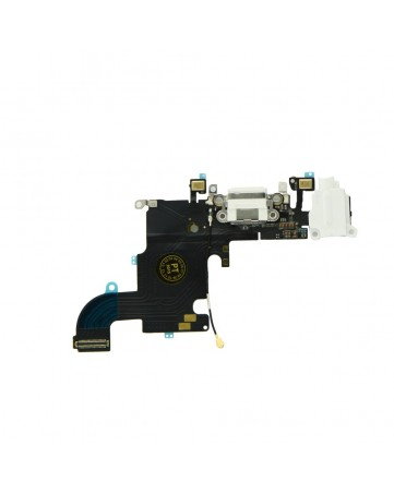 """Charging connector flex cable white - Apple iPhone 6s 4,7"""""""