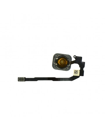 Flex cable with home button white - Apple iPhone 5s