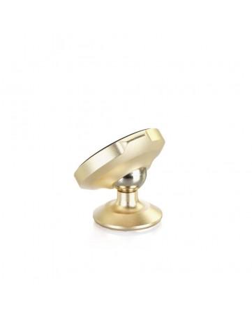Περιστρεφόμενη μαγνητική βάση κινητού & GPS 360-Degree για το αυτοκίνητο Baseus χρυσή
