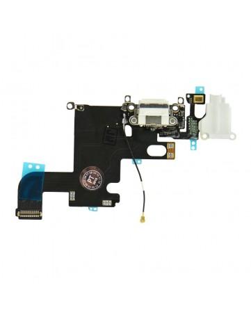 Lightning connector & headphone jack space white - Apple iPhone 6