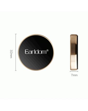 Μαγνητική βάση τηλεφώνου χρυσή - Eearldom EH-18