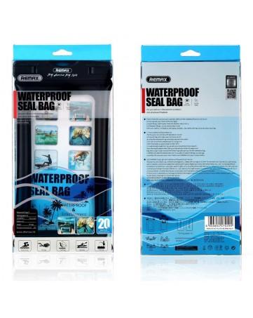 Αδιάβροχη Θήκη Universal Για Συσκευές Εώς 5 Ιντσών Λευκή - REMAX RT-W2