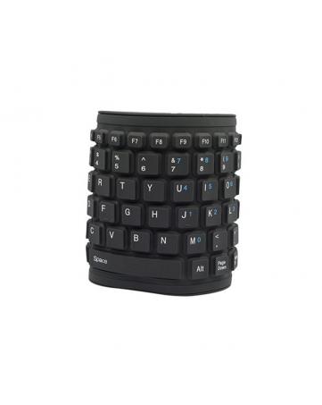 Ενσύρματο πληκτρολόγιο Flex Black - OEM 862