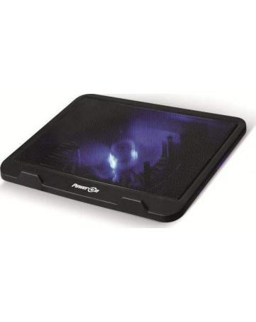 """Ψύκτρα Laptop 15.6"""" Μαύρη - Power On NTC-250"""