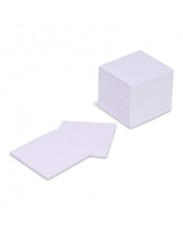 Χαρτάκια σημειώσεων 9Χ9 500 Φύλλα λευκά