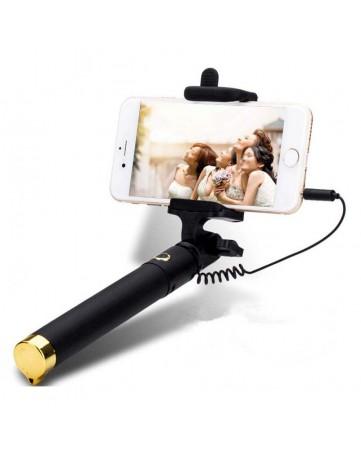 Selfie Stick με σύνδεση 3.5mm χρυσό - OEM 484