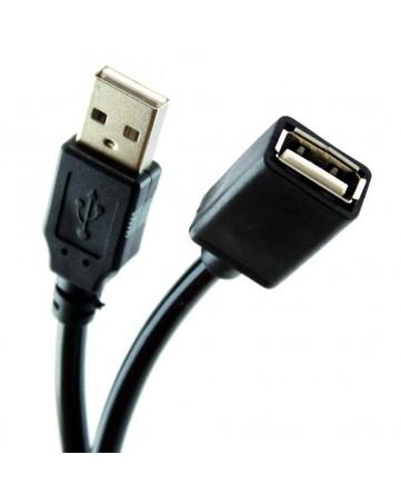 Προέκταση USB 2.0 αρσενικό σε θηλυκό 5m Black - OEM 741